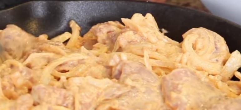 Курица по - французки с картофелем