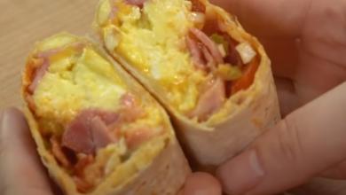 Photo of Яичный буррито
