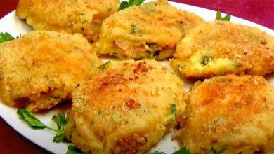 Photo of Картофельные зразы с сыром и ветчиной