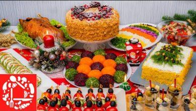 Photo of Меню на Новый год 2021! Готовлю 10 блюд на ПРАЗДНИЧНЫЙ СТОЛ: Торт, Салаты и Закуски