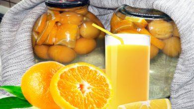 Photo of Абрикосовая Фанта в домашних условиях! Компот из абрикосов и апельсина Фанта на зиму