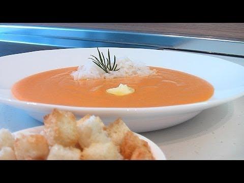Суп-пюре из моркови видео рецепт.Книга о вкусной и здоровой пище.